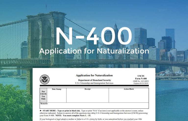 Form N-400| Application for Naturalization