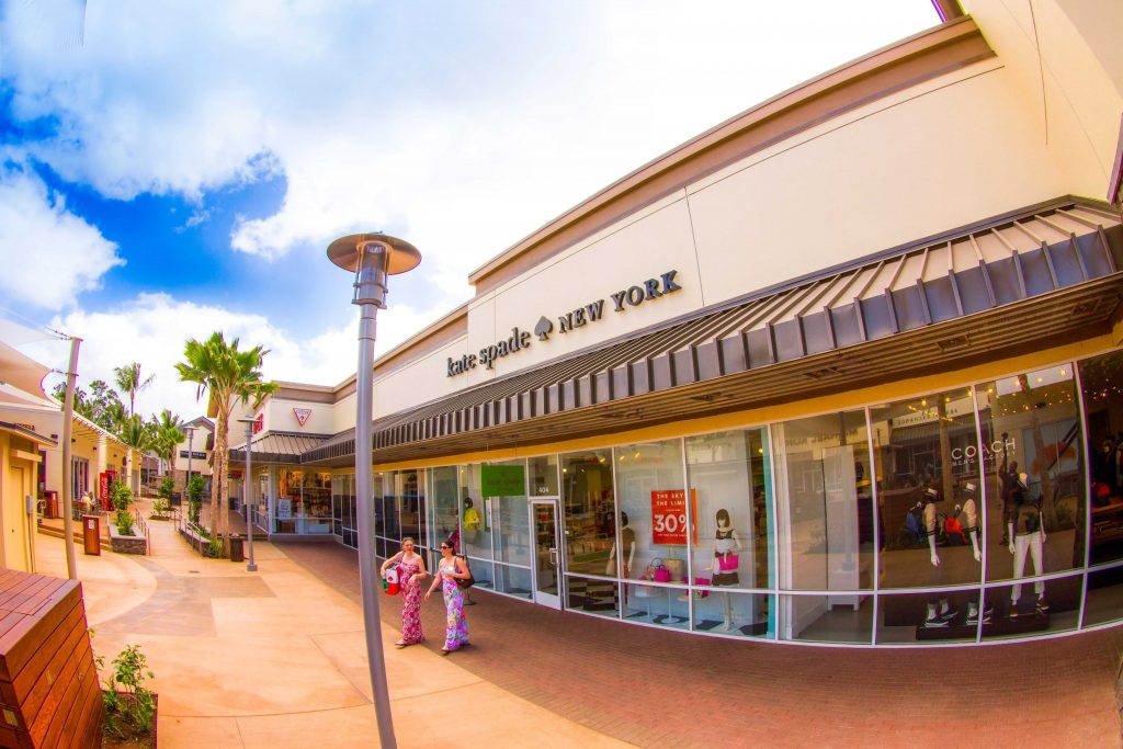 kate spade store at Waikele Premium Outlets