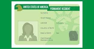 الحصول على البطاقة الخضراء