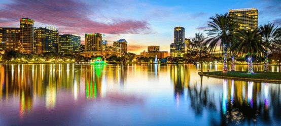 السياحة في أورلاندو بولاية فلوريدا