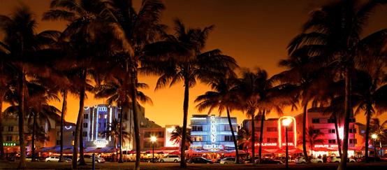 السياحة في ميامي بيتش بولاية فلوريدا