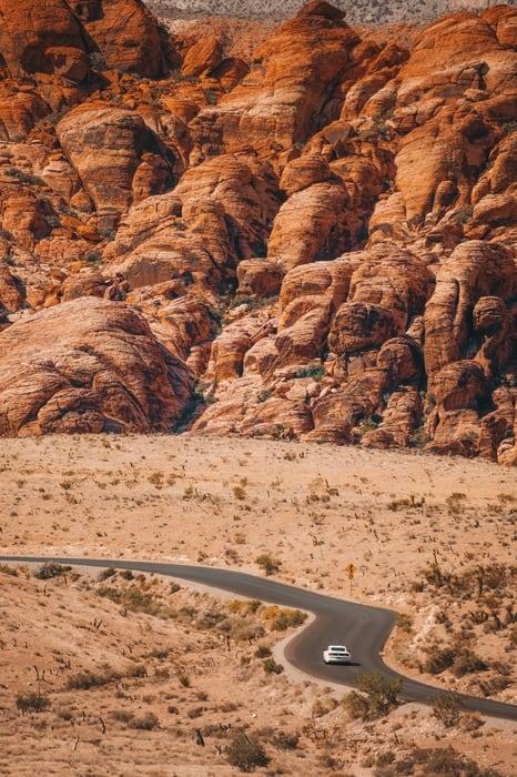 محمية Red Rock Canyon الطبيعية