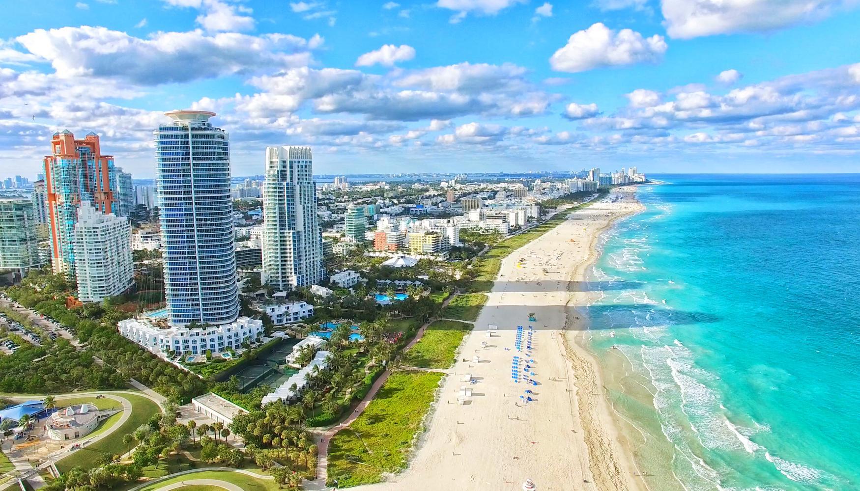 مدن سياحية في أمريكا - ميامي بيتش