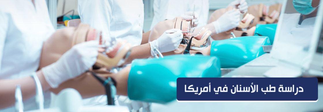 دراسة طب الأسنان في أمريكا