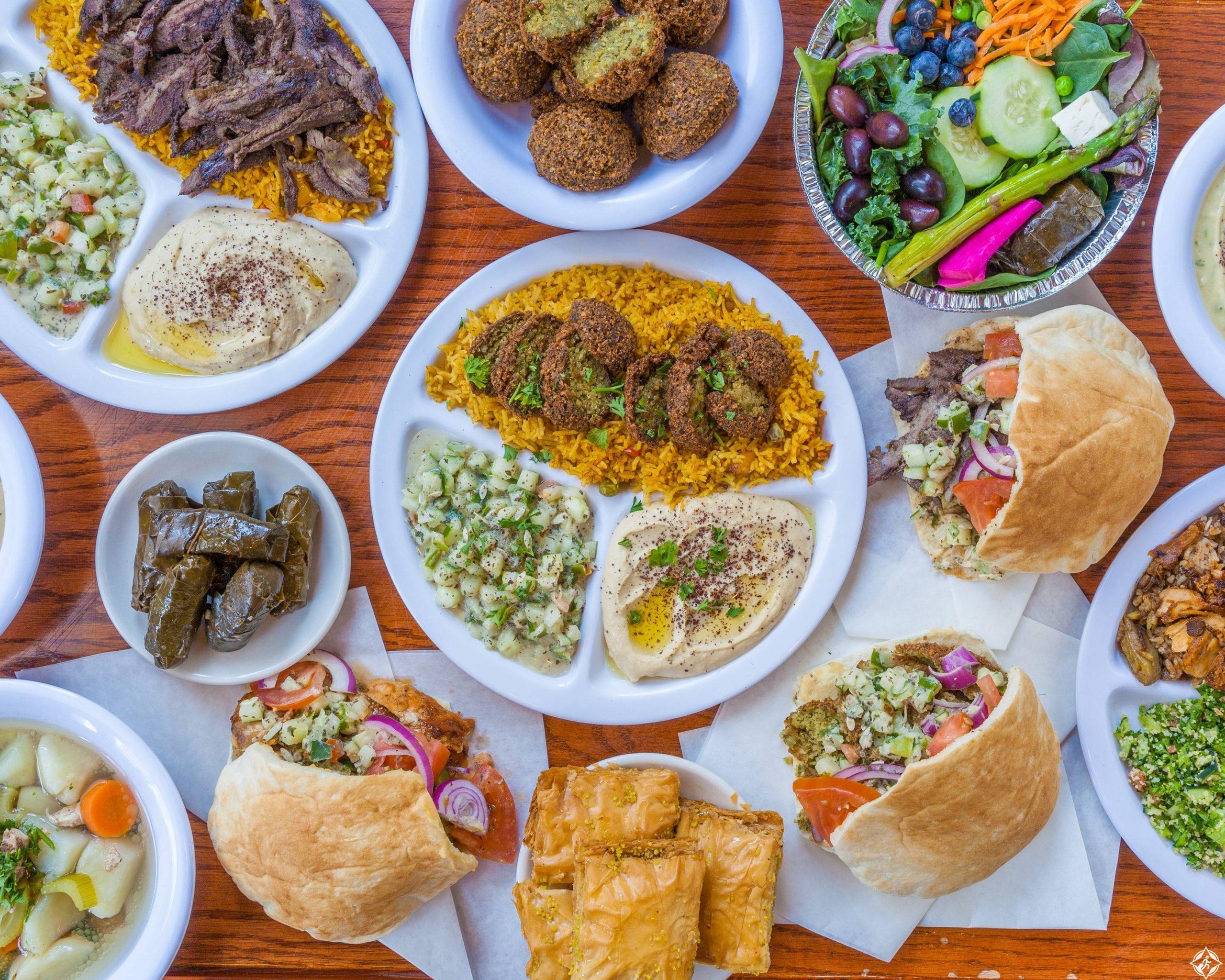 مطاعم عربية في ولاية شيكاغو