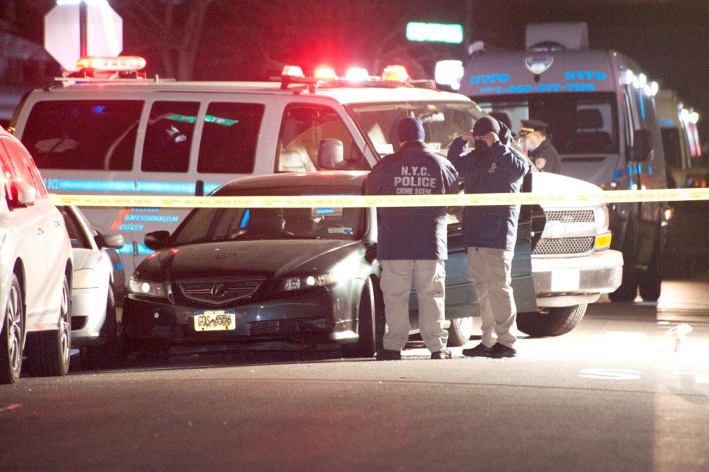 الشرطة تطلق النار على سارق سيارة في نيويورك 24 يناير!