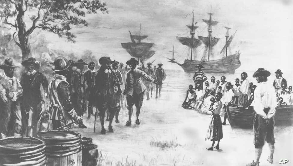 أمريكا تحيي الذكرى الـ 400 لوصول أول سفينة أفارقة خلال العام 1619 ! جذور العبودية المرة