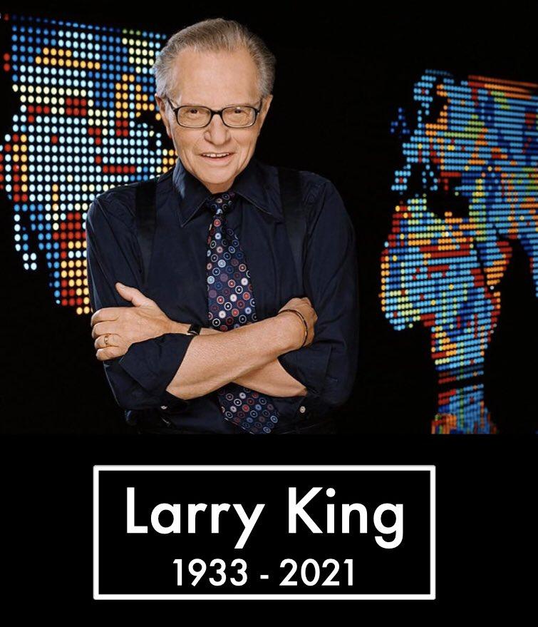 رحيل المذيع الإسطورة لاري كينغ عن عمر ناهز لـ 87 عاماً في لوس أنجلوس