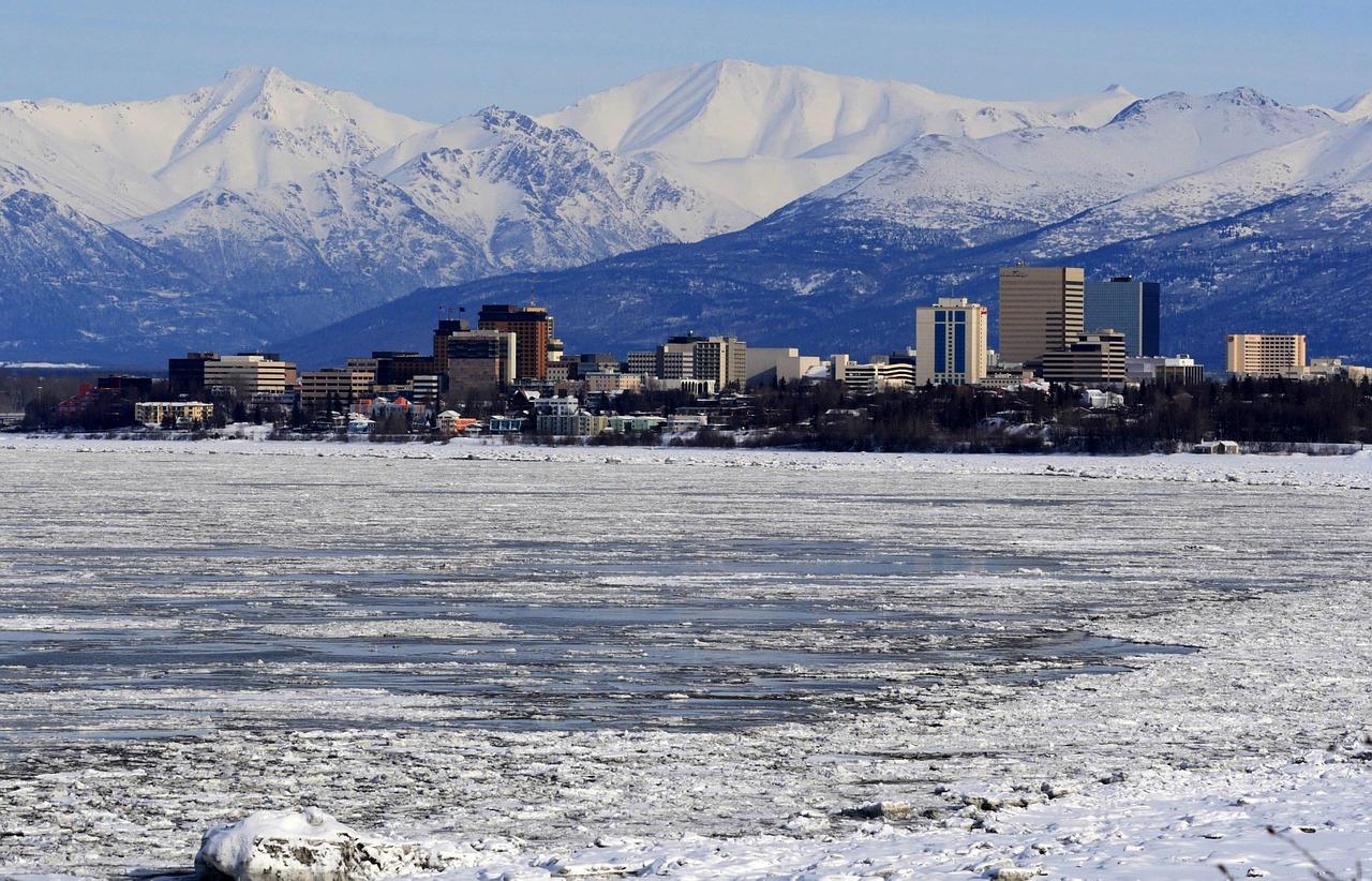 مدينة أنكورج - بولاية ألاسكا في أمريكا