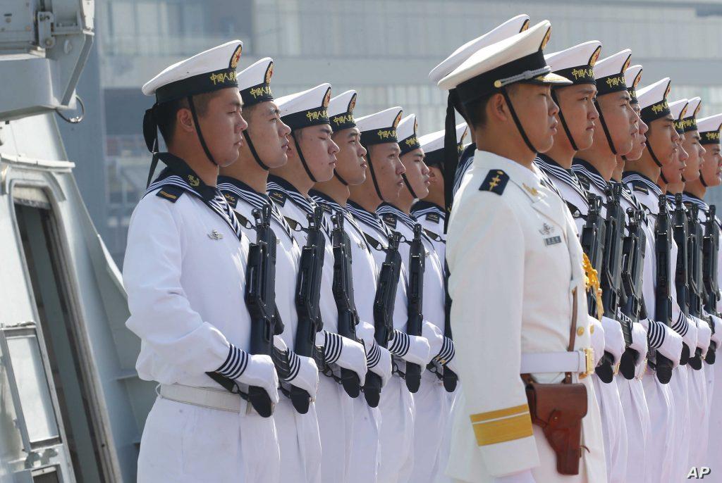 تصاعد التنافس بين الصين والولايات المتحدة في البحر 29 / يناير