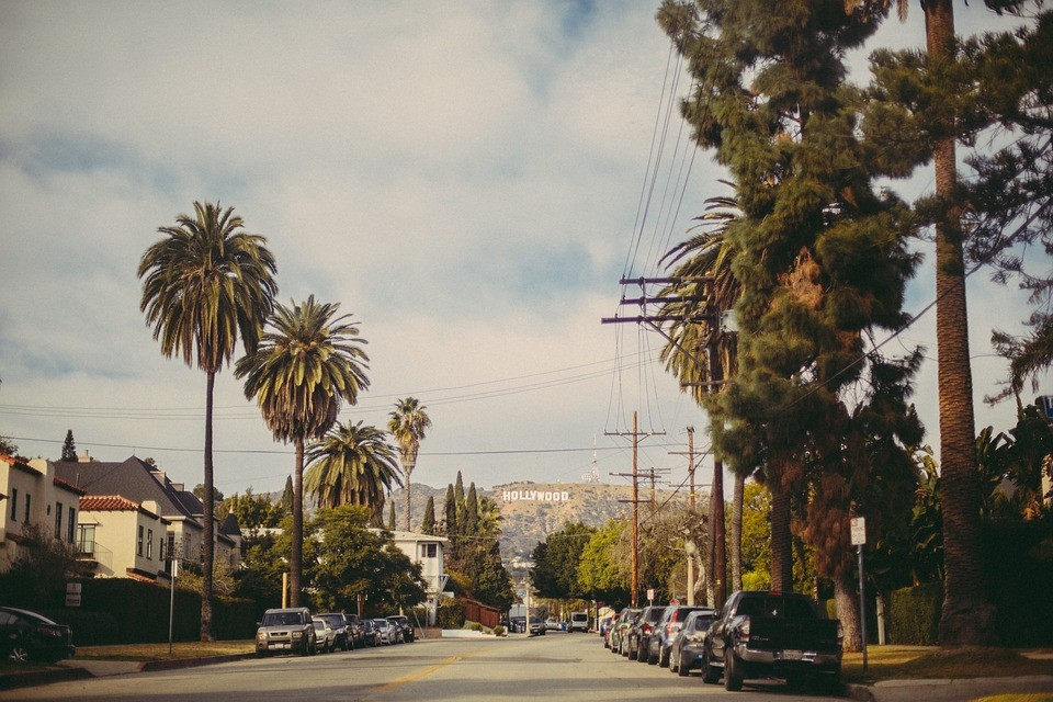 مدينة هوليود - ممشي الشهرة