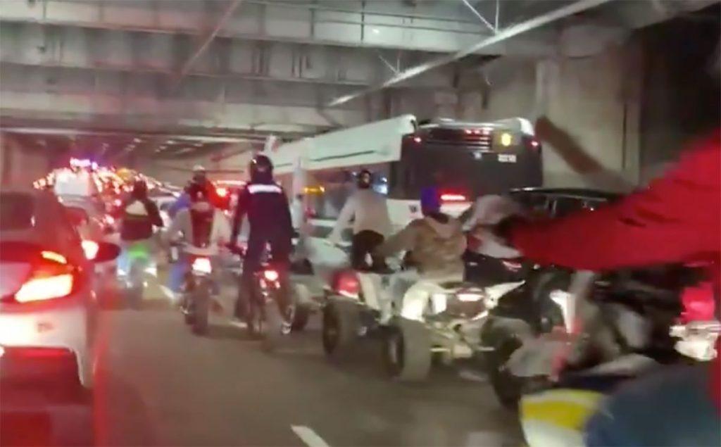 مقتل سائق دراجة نارية بعد أن قاد أكثر من 500 سائق دراجاتهم بتهور في سان فرانسيسكو!