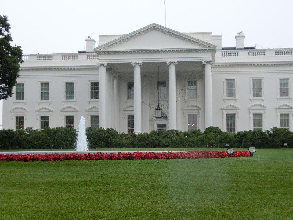 البيت الأبيض بالعاصمة واشنطن