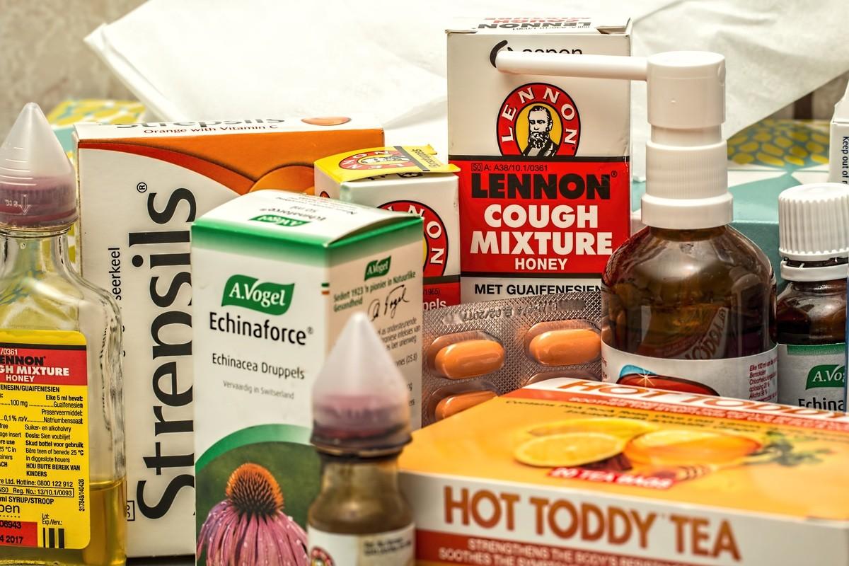 أدوية علاج السعال