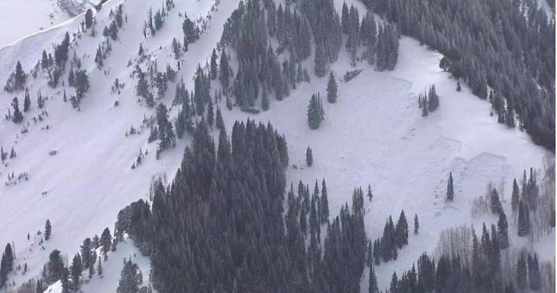 انهيار جليدي في يوتا: مقتل أربعة متزلجين بعد انزلاق ثلجي / 7 فبراير