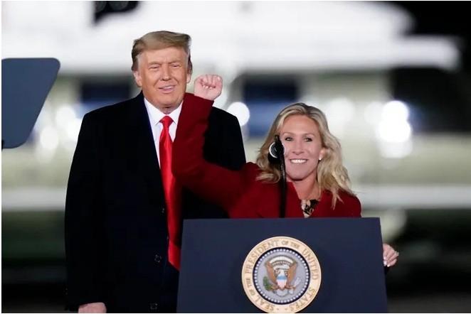 تمسك الجمهوريون بالثقة في دونالد ترامب لدعم جرين / 5 فبراير