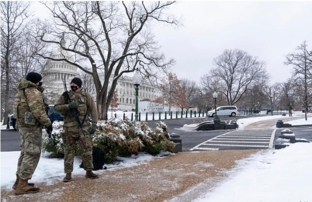 الشرطة الأمريكية وقوات الأمن تستعدان لمحاكمة ترامب / 5 فبراير