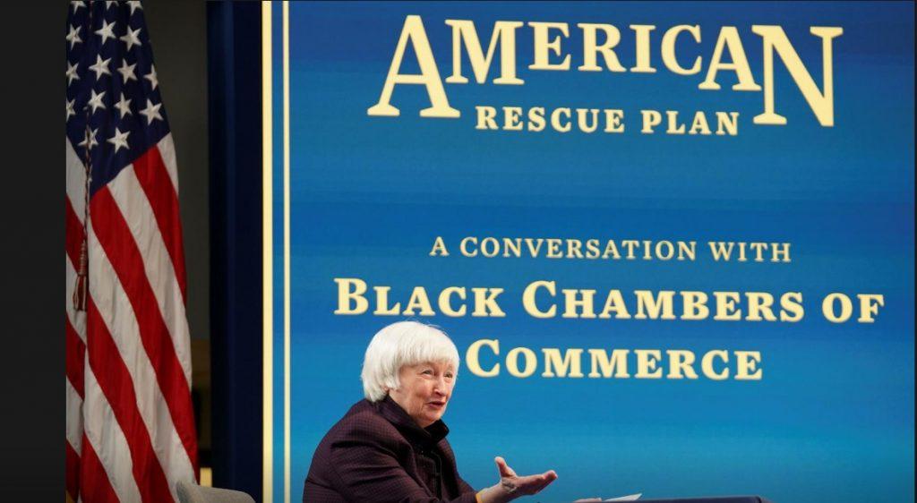 وزيرة الخزانة الأمريكية تحذر من التأثير الدائم لفيروس كورونا على الأمريكيين السود / 5 فبراير