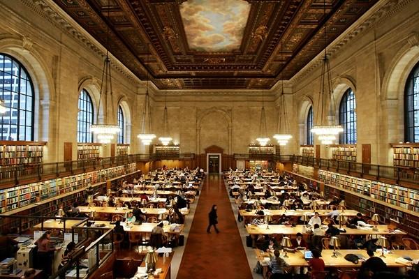 مكتبة نيويورك العامة