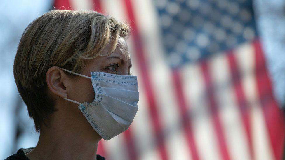 فيروس كورونا في أمريكا