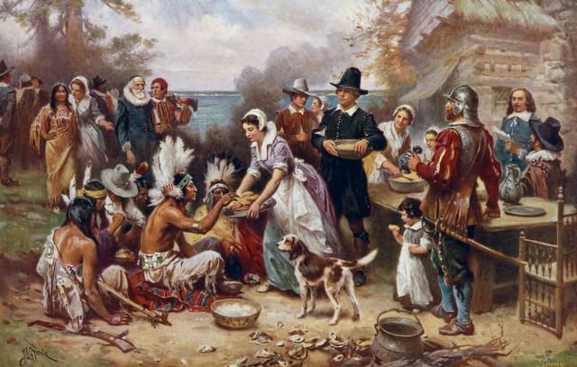 من الاجازات الرسمية في أمريكا عيد الشكر