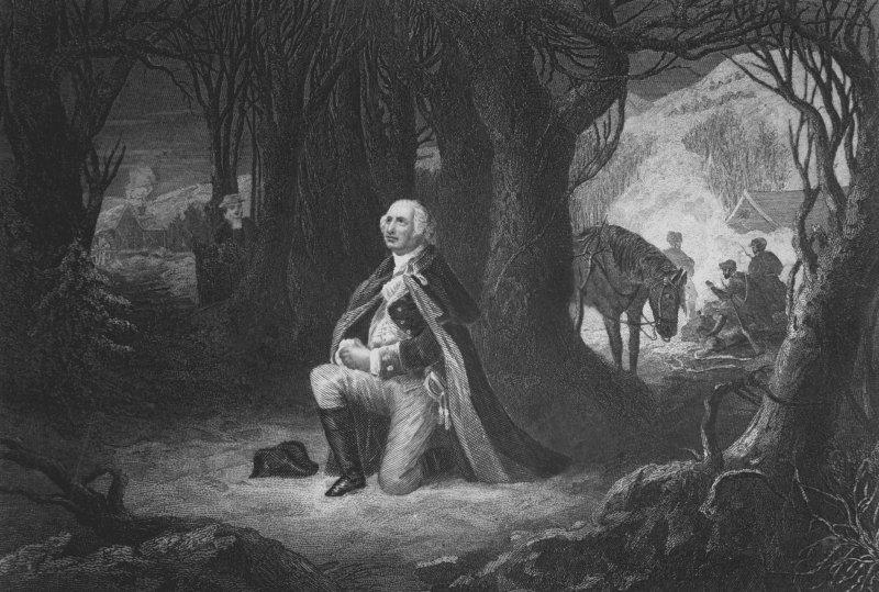 حلفاء أونيدا يساعدون جيش جورج واشنطن في فالي فورج