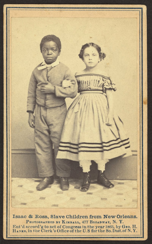 """دعاة إلغاء العبودية ينشرون صور """"العبيد المحررين، البيض والملونين"""