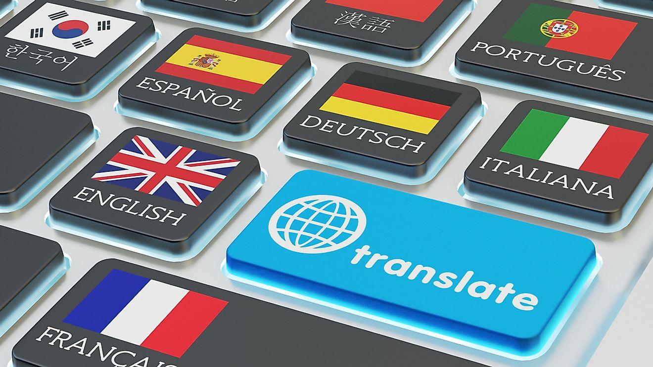 لغات مختلفة في الولايات المتحدة الأمريكية