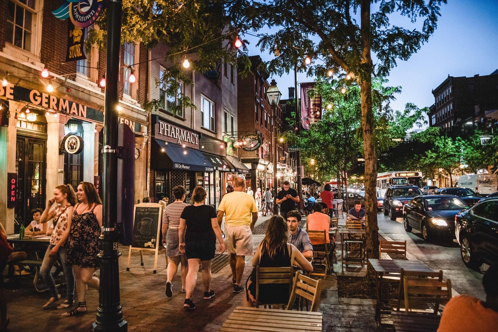 المدينة القديمة فيلادلفيا