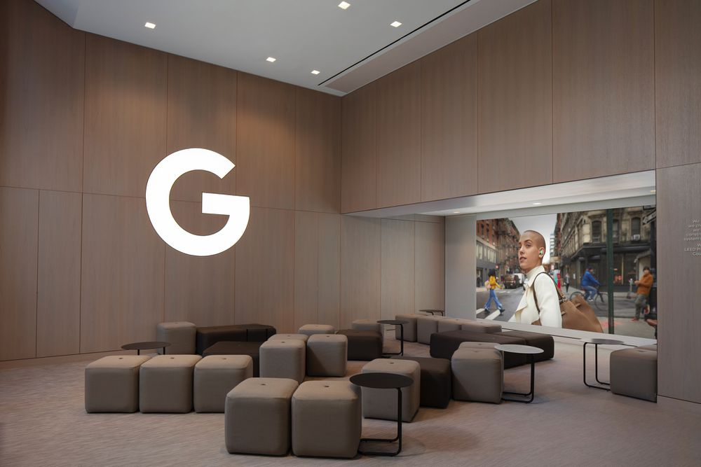 جوجل تفتتح أول متجر فعلي في الولايات المتحدة الامريكية