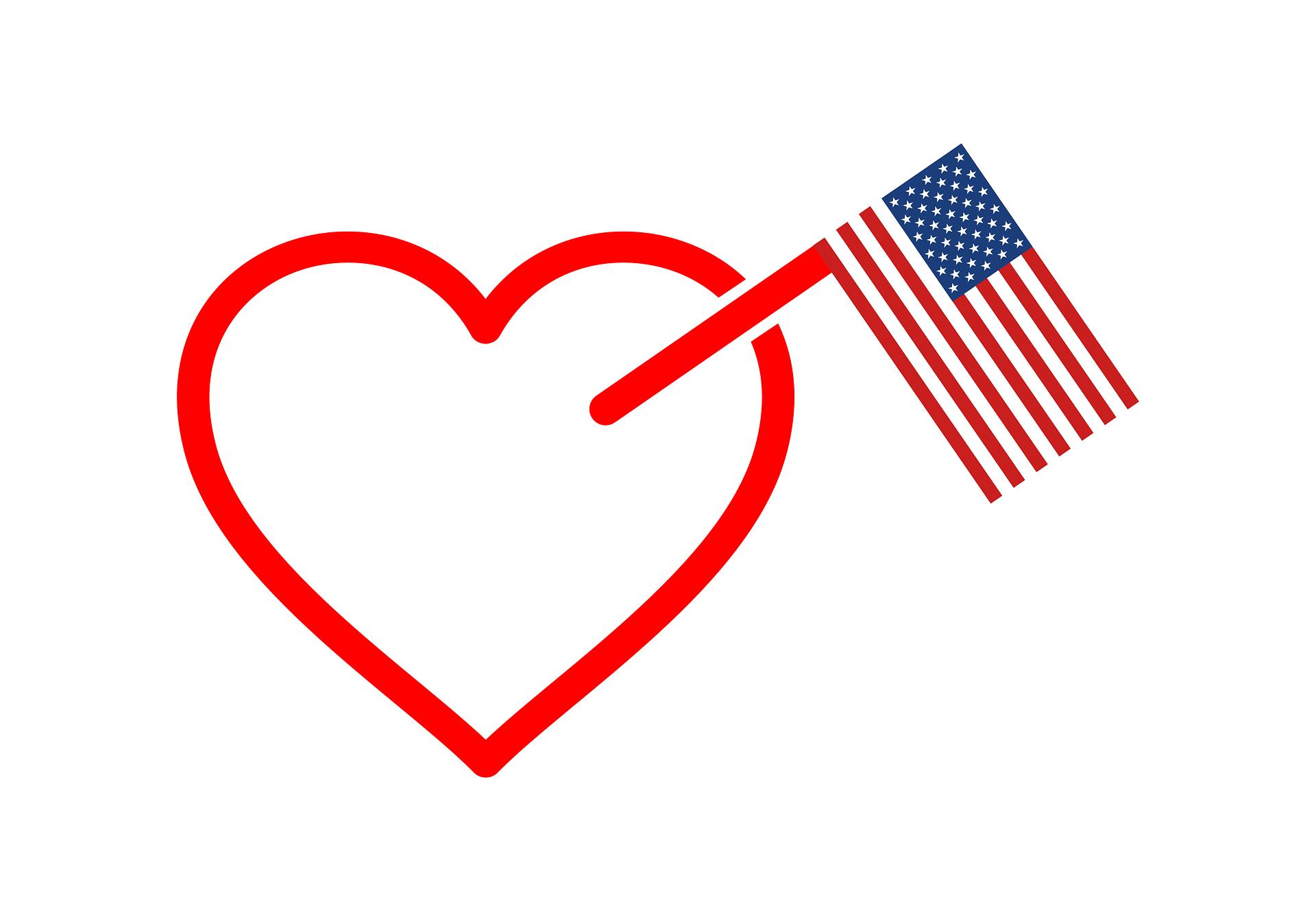 الزواج في امريكا