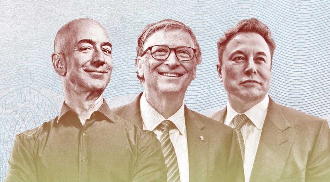 أغنى 10 مليارديرات أمريكيين في عام 2021
