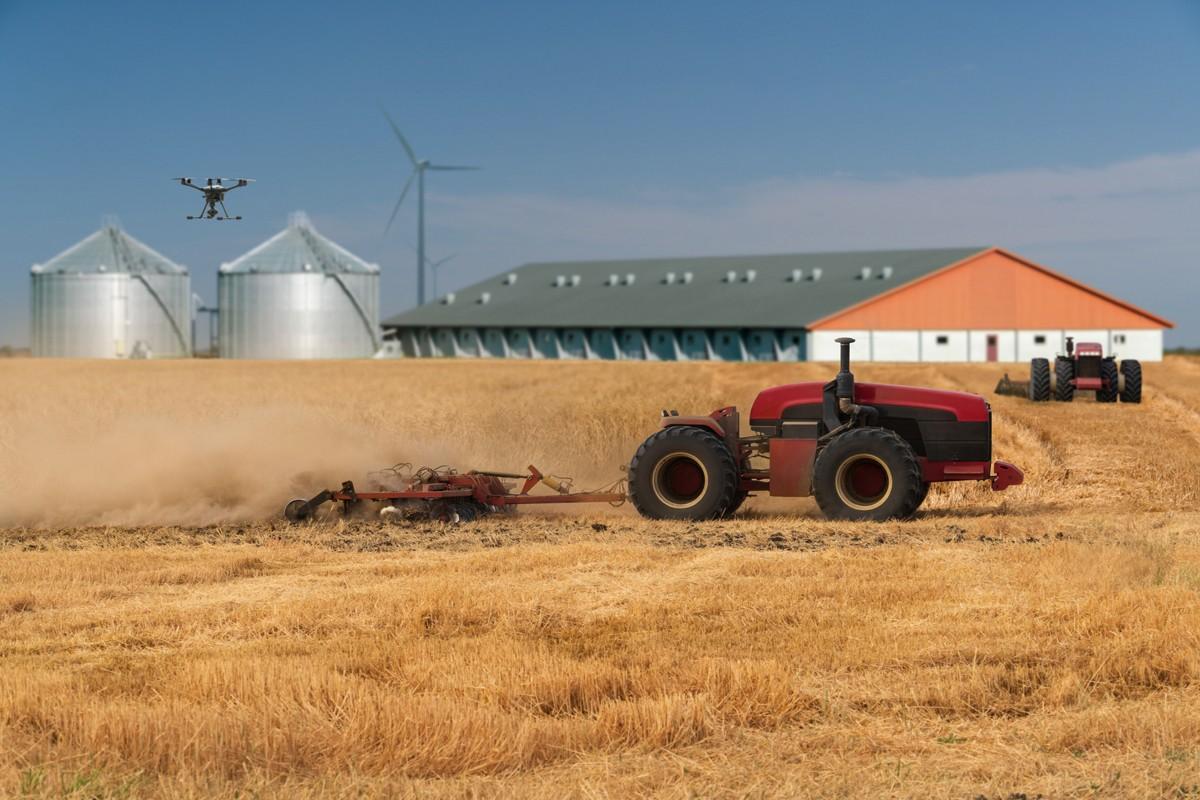الزراعة في أمريكا