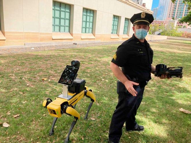 الشرطة الامريكية تستخدم روبوتات ذكية في أعمال الامن