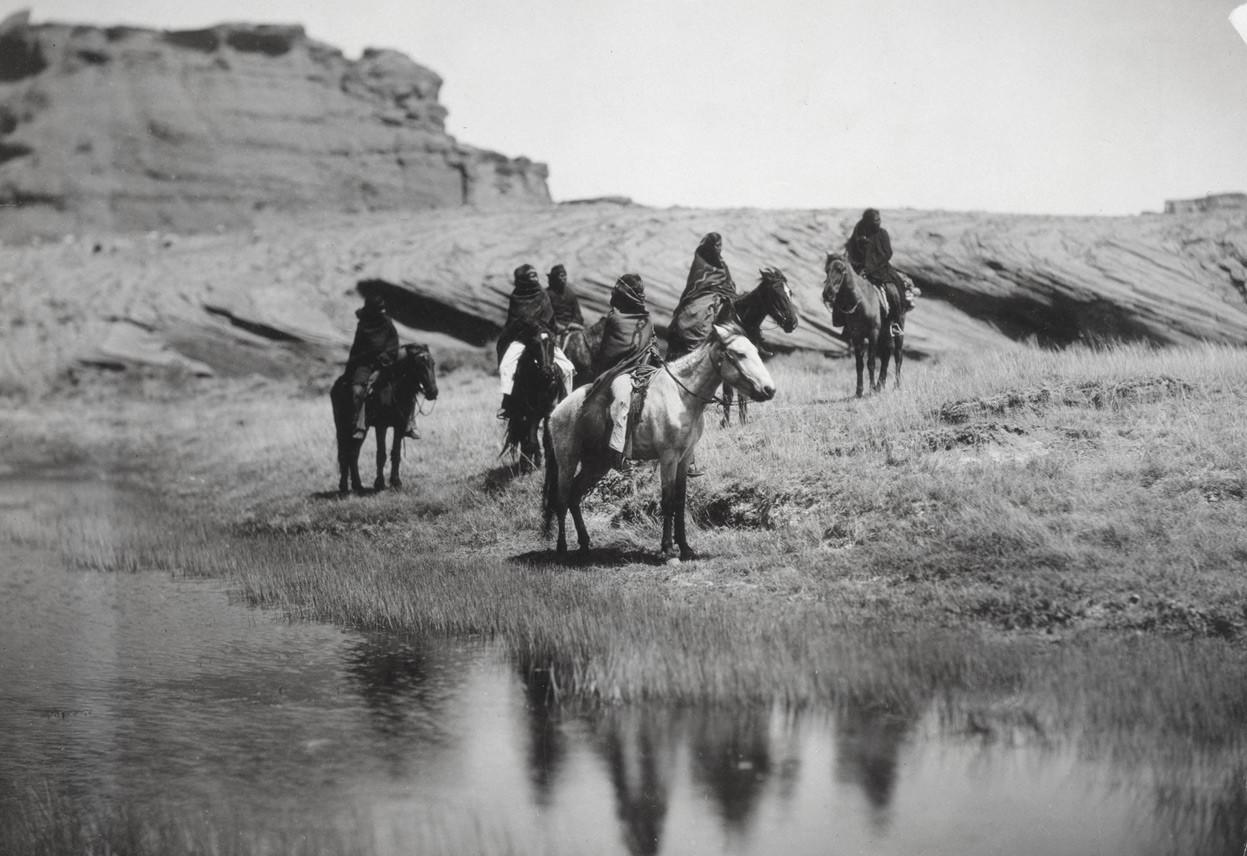 صورة من تاريخ الأمريكيون الأوائل