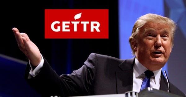 ترامب يطلق تطبيق اجتماعي جديد تحت اسم GETTR