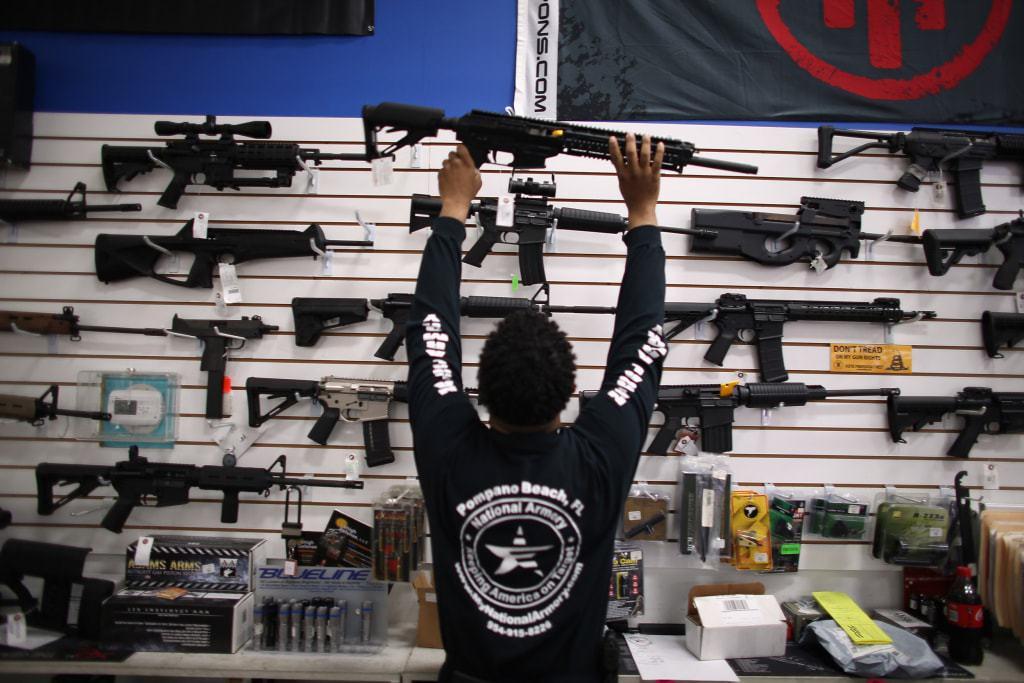 تراخيص امتلاك السلاح في أمريكا