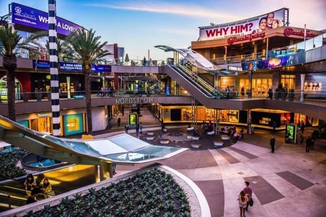 التسوق في لوس أنجلوس