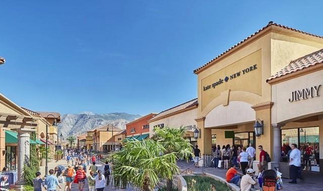أفضل مراكز التسوق في بالم سبرينغز