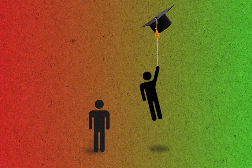 التعليم الجامعي في امريكا وعلاقته بالتوظيف - ارقام واحصائيات 2021