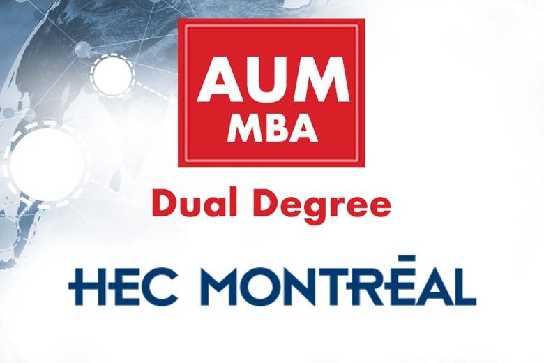 جامعة AUM تعلن عن اتفاقية تعاون استراتيجي مع HEC Montreal لبرنامج AUM-MBA