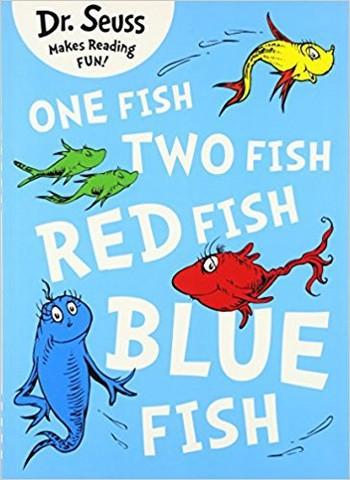 دكتور سوس - Dr. Seuss - One Fish Two Fish Red Fish Blue Fish