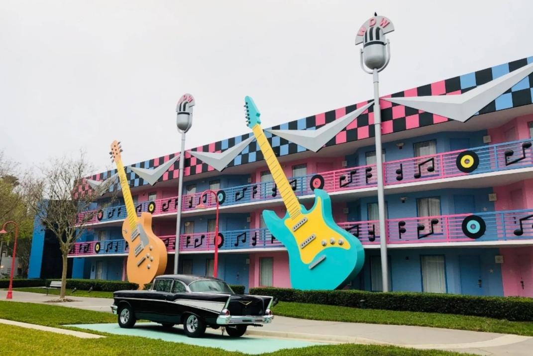 فنادق ديزني وورلد - Disney's_All-Star_Music_Resort