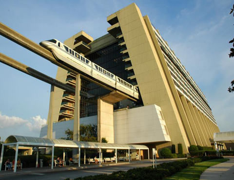 فنادق ديزني وورلد - Disney's_Contemporary_Resort.jpeg