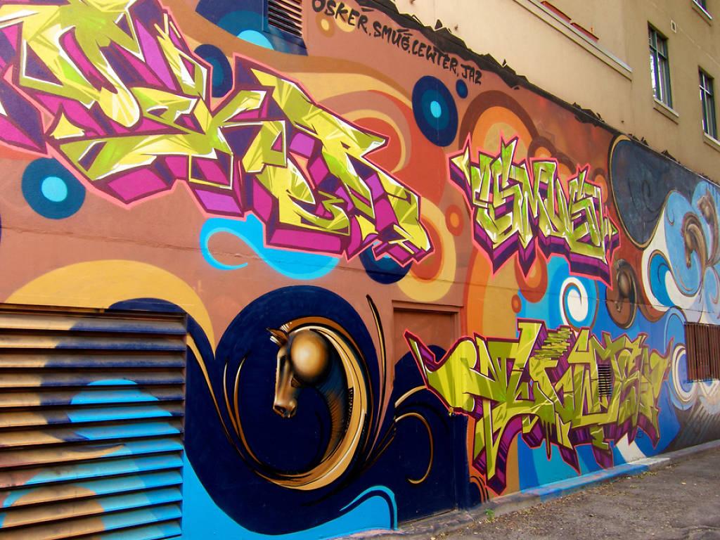 أفضل لوحات الجرافيتي في أمريكا - اختيارات 2022