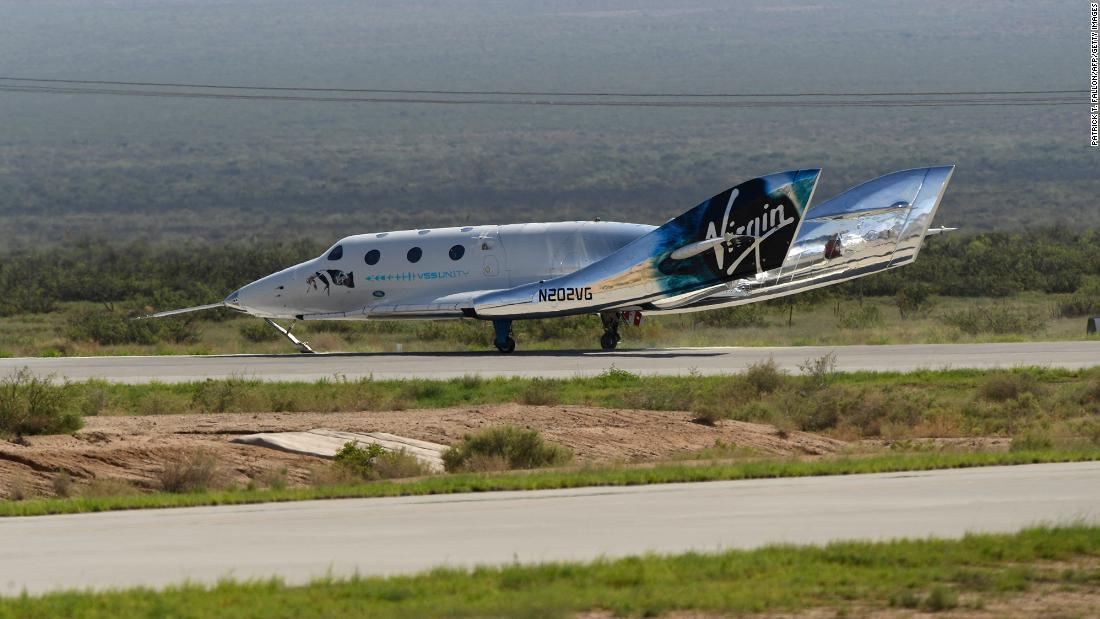 Virgin Galactic تعيد فتح باب حجز تذاكر الفضاء مقابل 450 ألف دولار