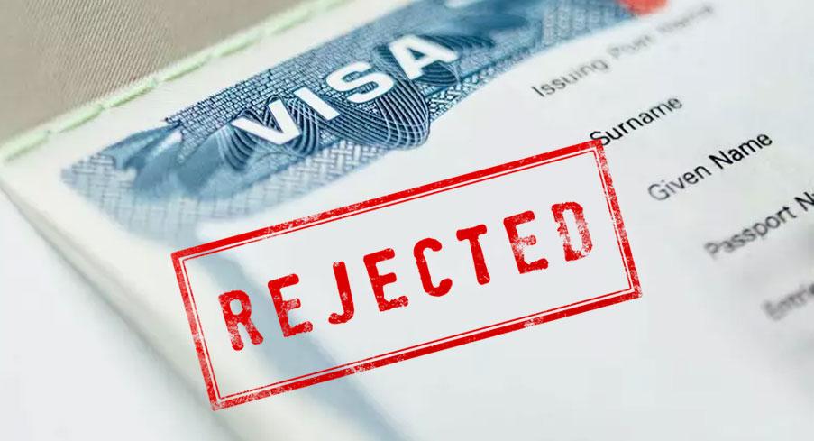 أسباب رفض تأشيرة الولايات المتحدة