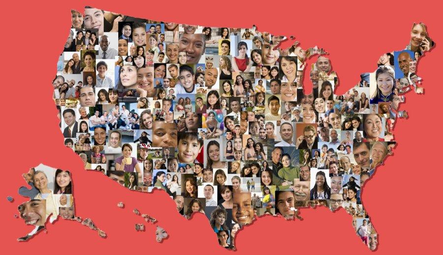 احصائيات سكان الولايات المتحدة في سبتمبر 2021