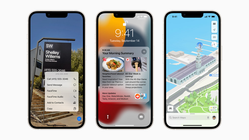 iOS 15 متاح رسمياً اليوم لهواتف الآيفون المتوافقة