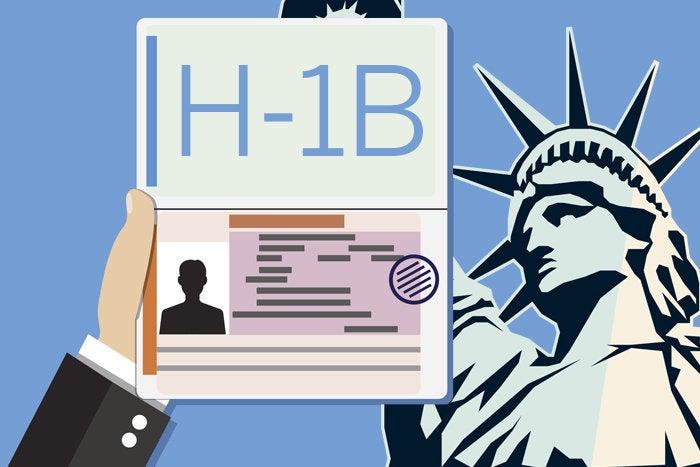 متوسط رواتب حاملي تأشيرة H-1B في امريكا